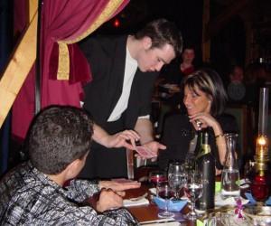 Tischzauberei mit Karten